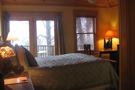 Waterfront View Guest Room with private bath at The Cypress Moon Inn,