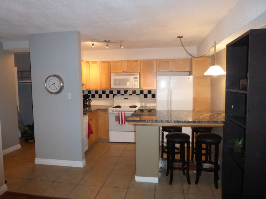 Fully functional Kitchen with Dishwasher and all equipment