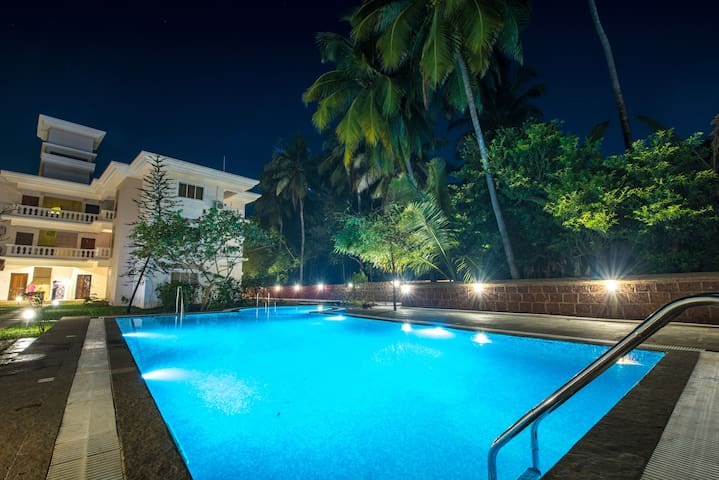 2 BHK Apartment With Pool