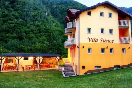 Double Room Vila Sunce Boracko Lake - Szoba reggelivel