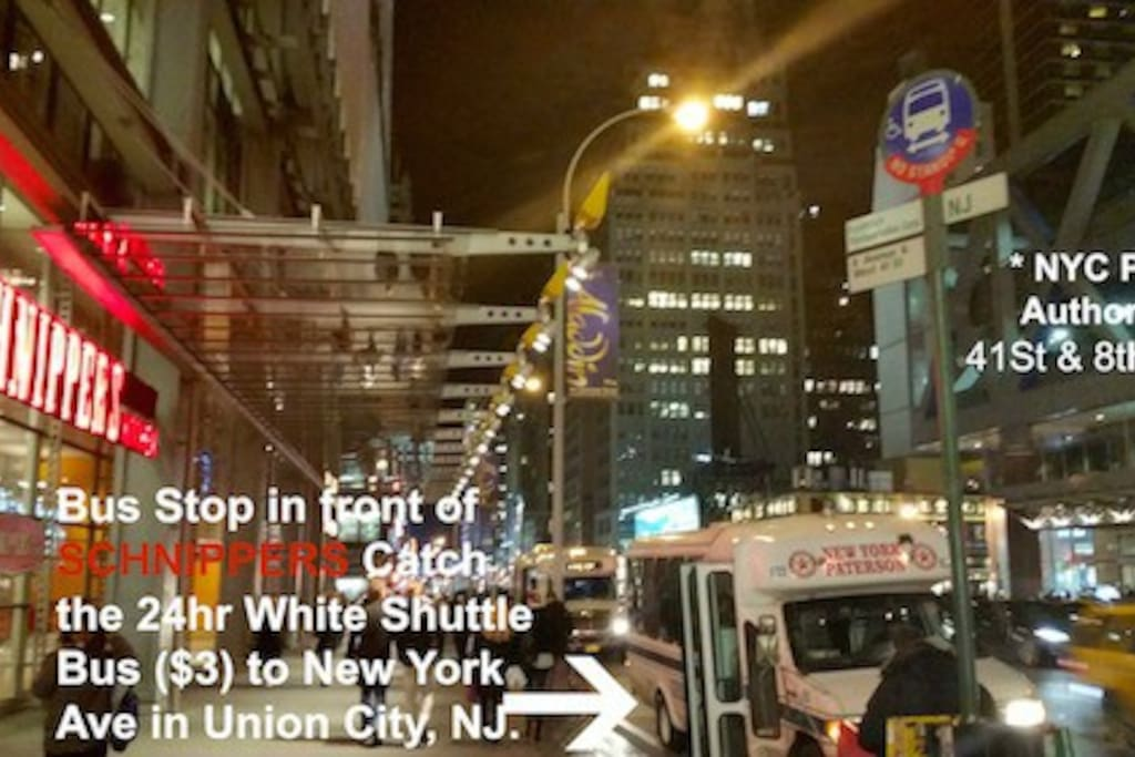 ***EASIEST WAY TO MY HOUSE FROM NYC***  Another view, Directions from NYC to my home. In front of SCHNIPPERS RESTAURANT