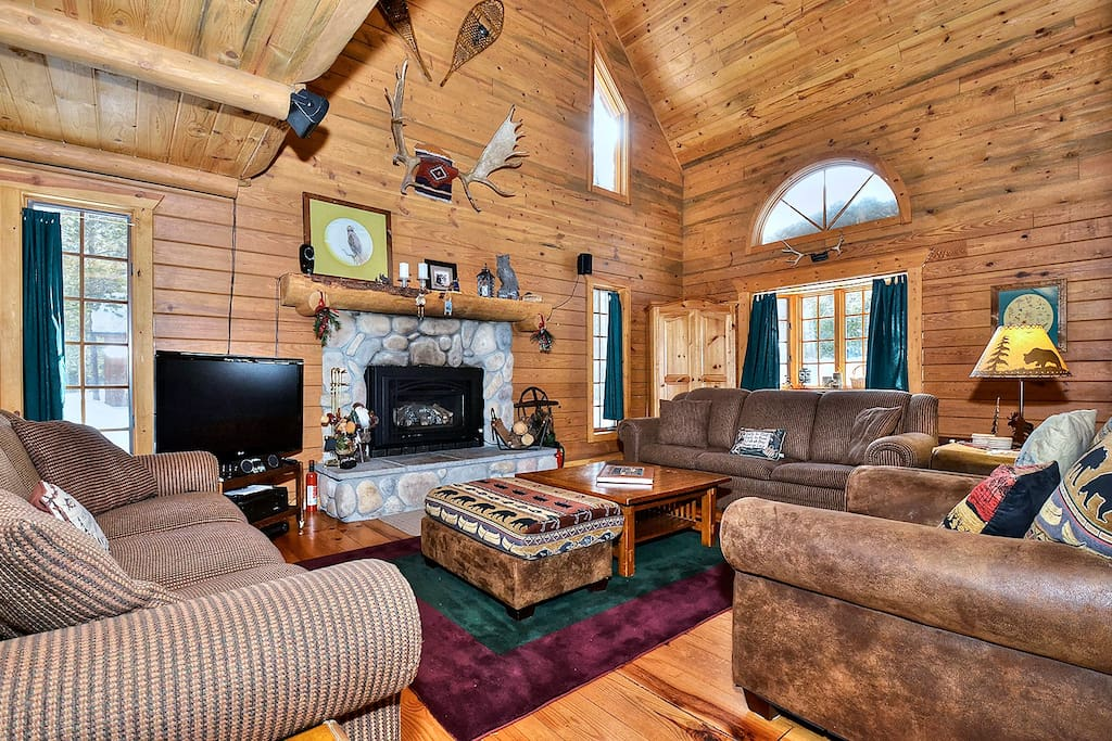 A highlight of the house is the large, homey Great Room!