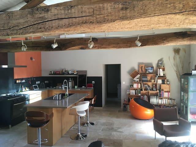 Chambre dans charmante maison - Preignac - Дом