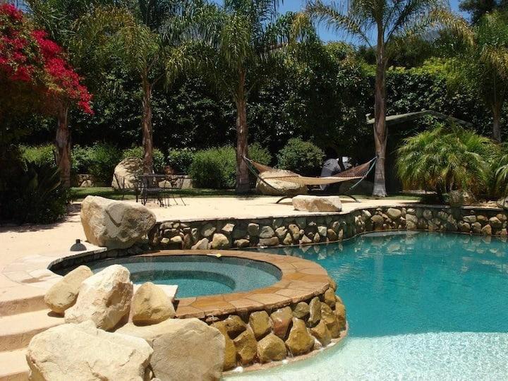 Poolside Cottage CarlasCottages/com