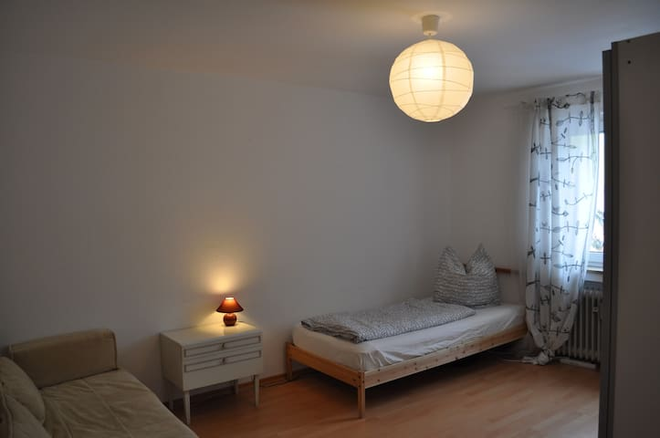 Room in Luminous, Modern Apartment - Kaufbeuren - Byt