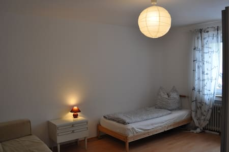 Room in Luminous, Modern Apartment - Kaufbeuren - Lägenhet