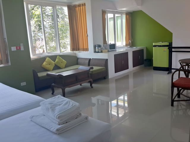 Penthouse with Tub Pool near Beach - Ko Samui - Apartment