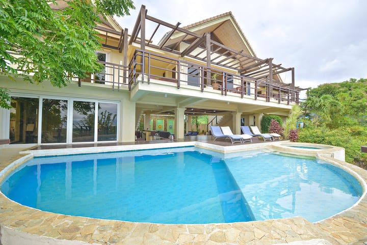 Boracay Mansion- rated 5 star panoramic ocean view