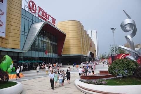 位于万达商业繁华地带,来上海金山休闲旅游的最好选择。