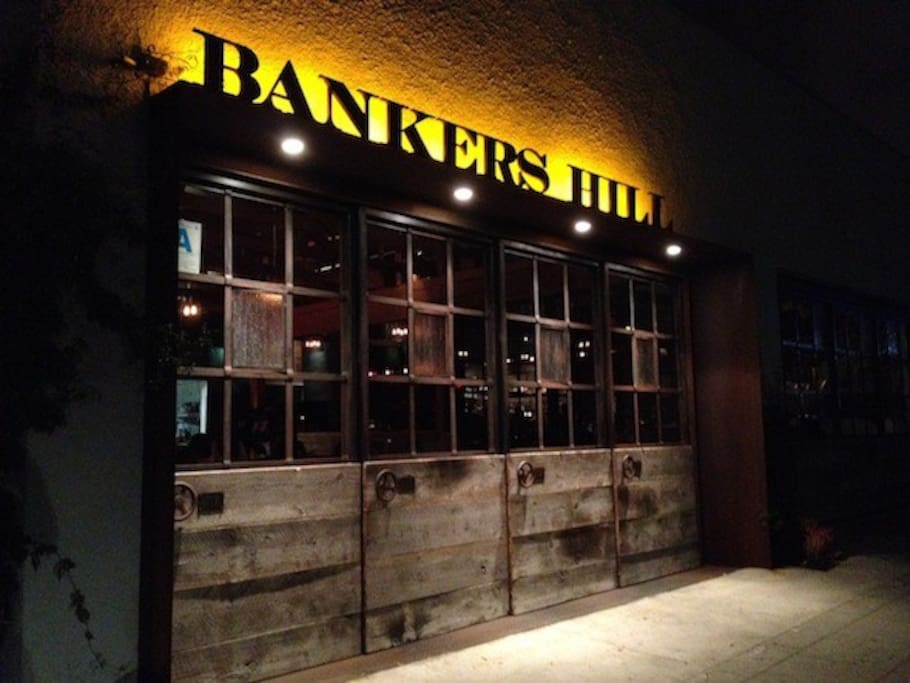 Located in Banker's Hill, downtown