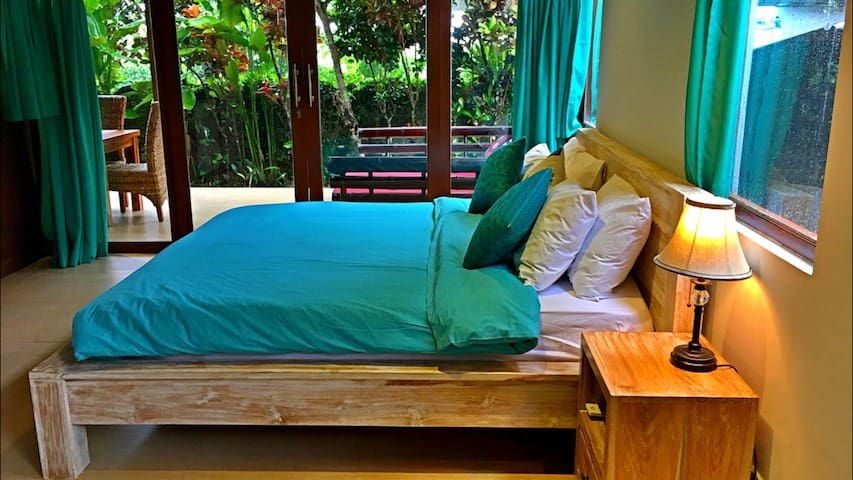 Beautiful Wooden Apartment opposite Alchemy(room3) - Ubud - Pis
