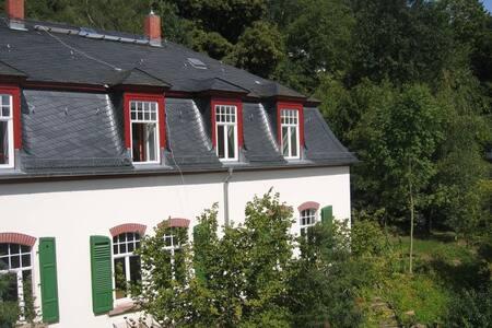 Wohnen in Villa am Schlosspark - Büdingen