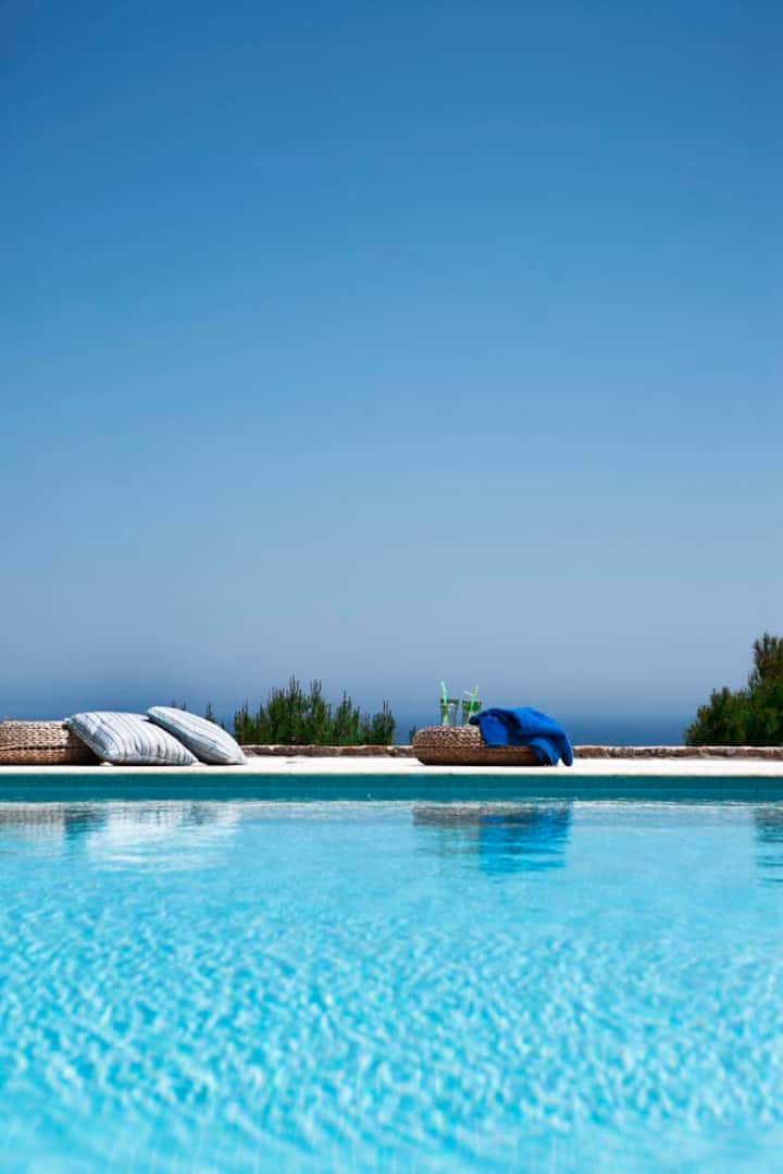 Aegean View-2 Villas-Ideal vacations for 16 !