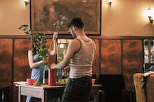 ikebana workshops available by reservation