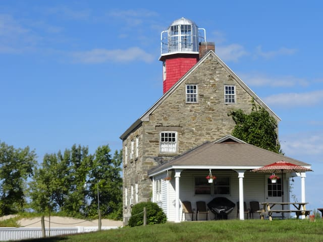 Salmon River (Selkirk) Lighthouse - Pulaski