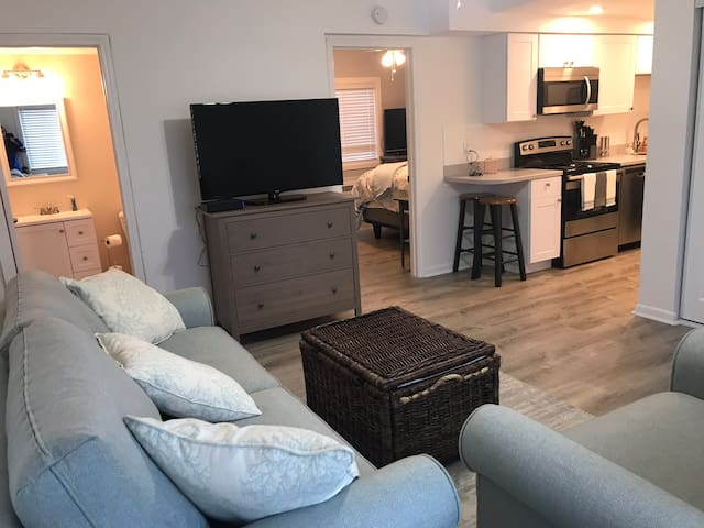 Newly Renovated Beach Condo on Ocean Side!