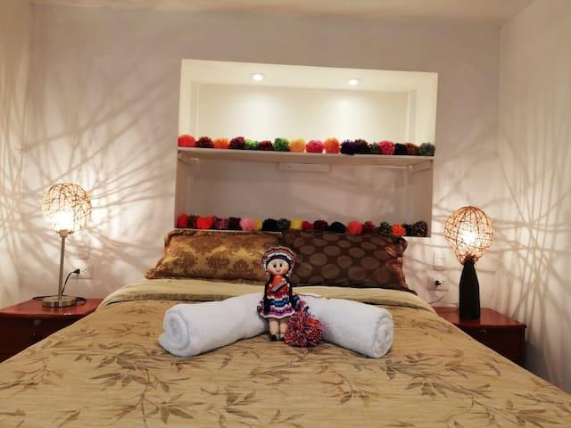 Cozy & Quiet Apartment with Best terrace in Cusco