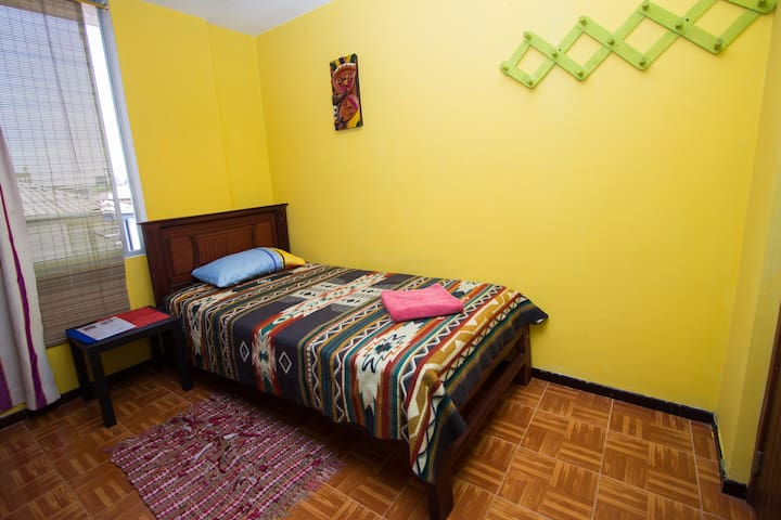 Spacious apartment - 2 bedrooms in central Quito