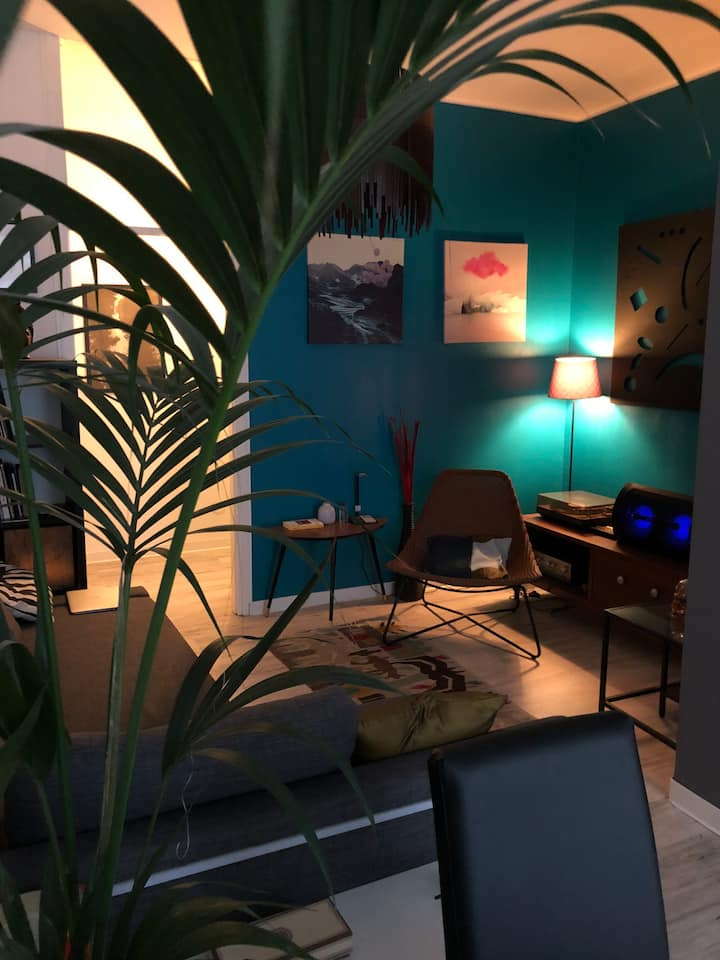 Cozy design  flat near Milan and Monza park