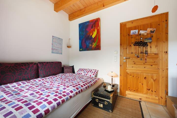 Sofabett für 1 Person mit Viskoschaumauflage
