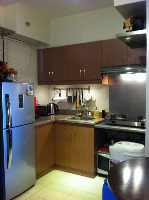 You can cook! Kitchen fully equipped and ready to use.