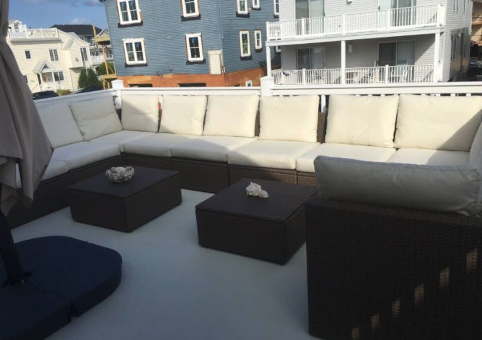 ocean city nj 2nd floor condo house h user zur miete in ocean city new jersey vereinigte staaten. Black Bedroom Furniture Sets. Home Design Ideas
