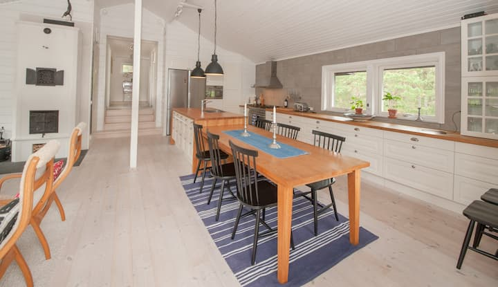 Fabulous  and modern archipelago house on Värmdö