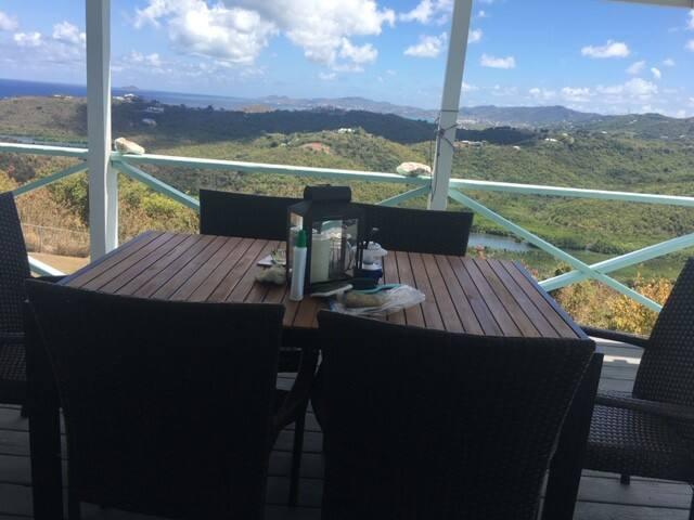 Private Hilltop Home