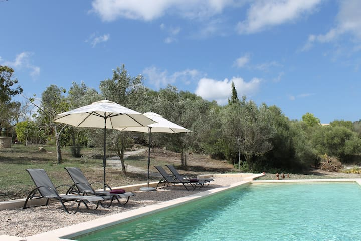 Beautiful Pool-Finca with 2 separate flats
