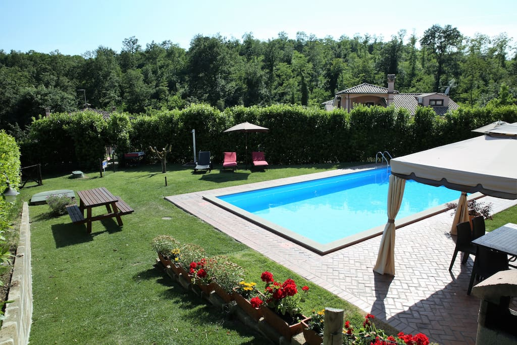 POOL OPEN FROM MAY