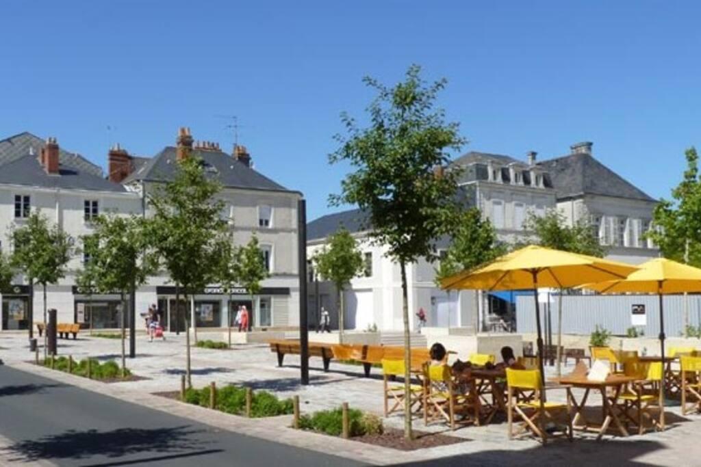 Situation appréciable en coeur de ville de Cholet