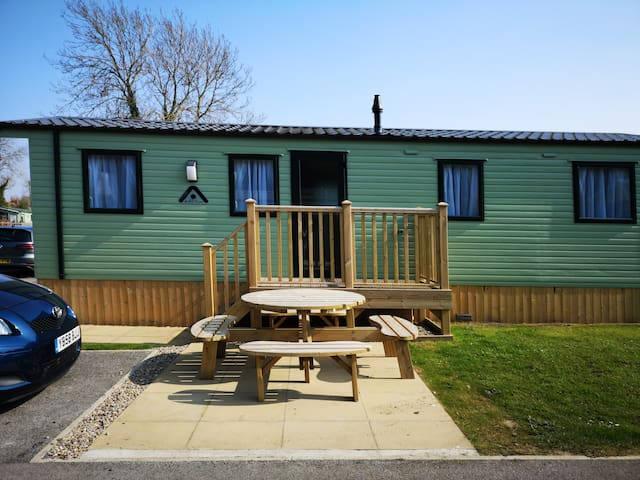 Modern, well equipped holiday home in North Yorks