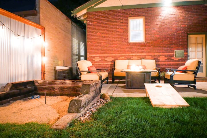 *Sanitized* Bungalow with Amazing Game Room & Yard