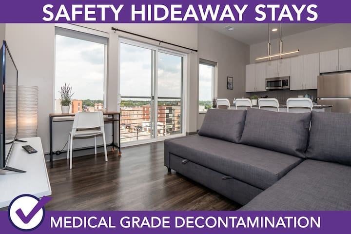 985 High St #623 · Safety Hideaway - Medical Grade Clean Home 4