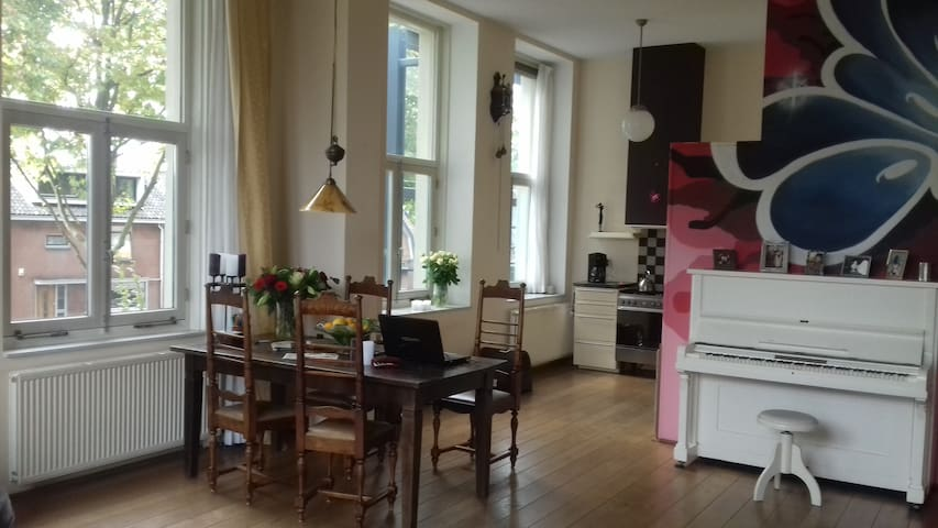 Great home near City Centre and Central Station - Amersfoort - Apartamento