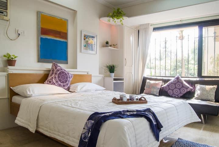 Sunny, Spacious & Lux - Bandra Area - Room 3