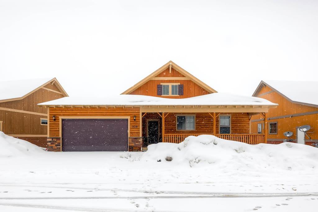 Premium ski in ski out house at granby ranch cabins for for Ski cabin rentals colorado