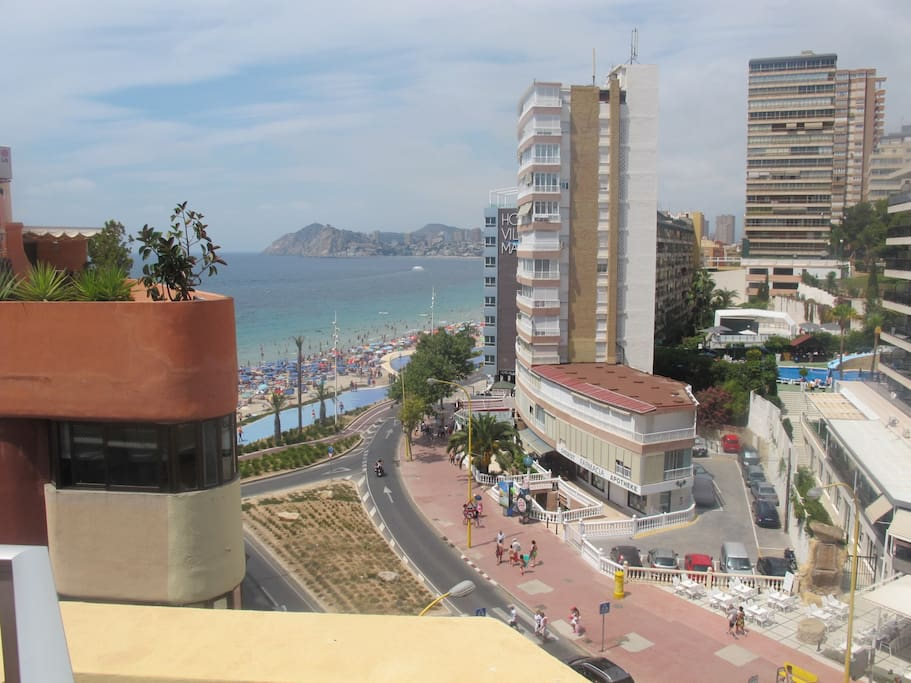 Top 100 Airbnb Rentals 2017 in Benidorm, Spain