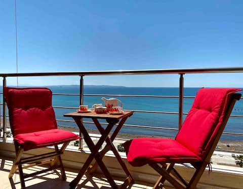 ⚡️Luxury Seaview apt w Terrace⚡️Vollga Promenade