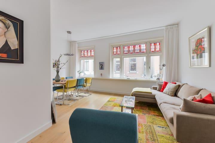 Lovely, quiet & central Koningstraat - Haarlem - Daire