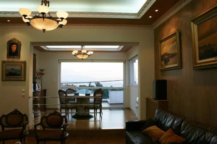 Villa near the beach in Salamis Island