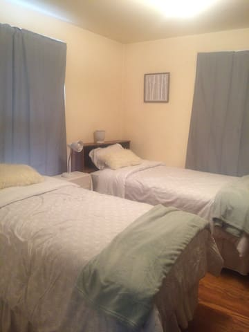 Beautiful twin bedroom near SU and Hospitals - Syracuse - Ev