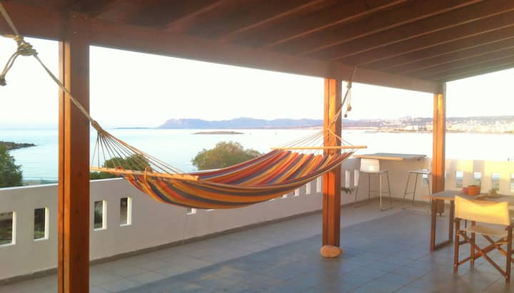 Loft with amazing view on the beach - Chania