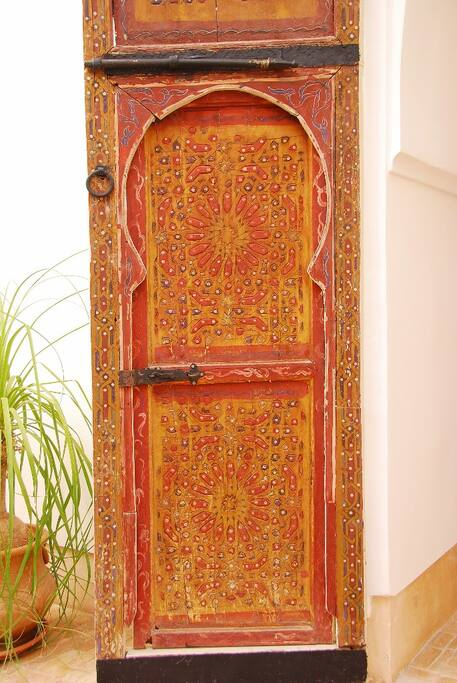 Original bedroom door