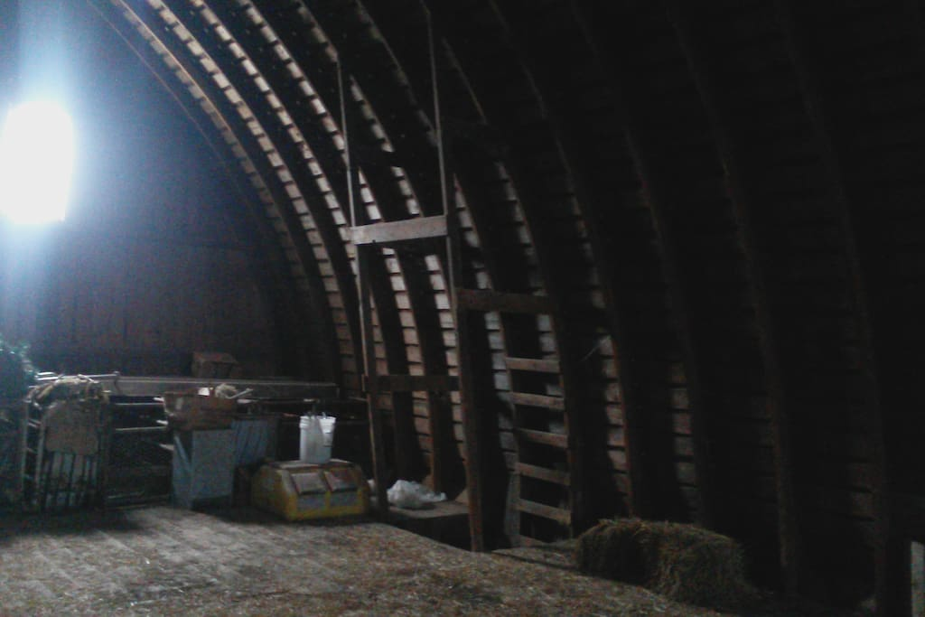 The craftsmenship in our barn is amazing.  It is currently under development plans for future activities