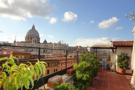 Amazing Penthouse - St Peter Vatican View! - 罗马 - 公寓