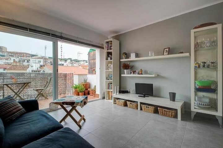 Lovely 2BR apartment Arenys de Mar