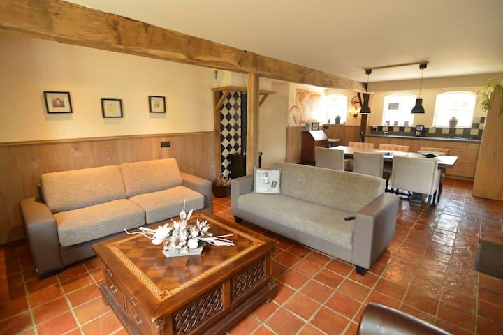 Ideal Casa de vacaciones en Haaren con jardín privado