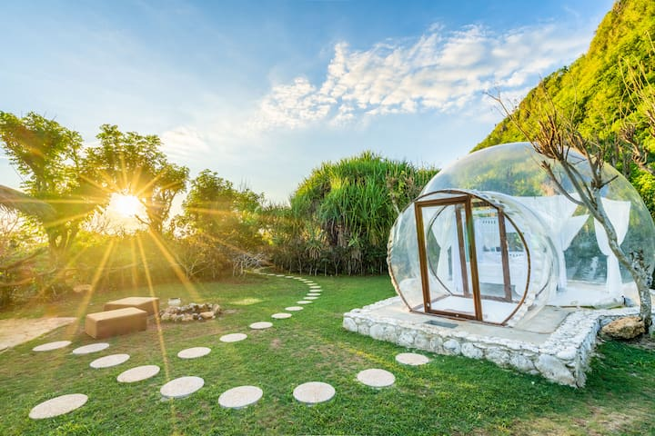 Romantic Hidden Dome with Ocean View