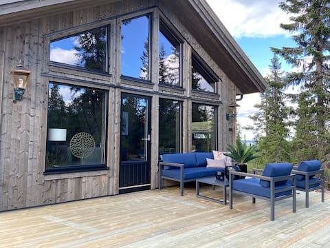 Fageråsen koselig hytte, ski inn/ut. 8 soveplasser